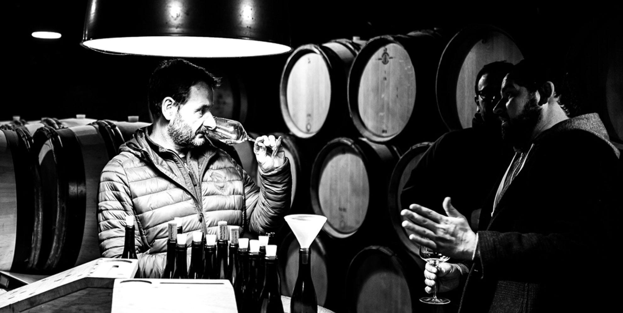 Jean-Marc Roulot at his cellar in Meursault. © Michael Sager